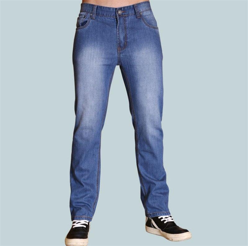 2015 New Fashion Men Hip Hop Classic Denim Blue Loose Men Harem Skateboard Jeans Men Baggy