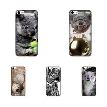 Funda de teléfono móvil con diseño de estilo Koala Bear para Galaxy A3 A5 A7 On5 On7 2015 2016 2017 Grand Alpha G850 Core2 Prime S2 I9082