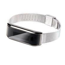 Смарт-наручные часы Браслет Шагомер ходьбы Счетчик калорий Спорт трекер IOS Andorid телефон (черный)