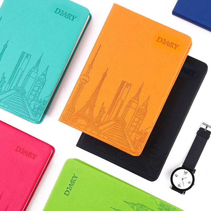 Calendar Planner Notebook : Cute candy colors notebook agenda planner organizer