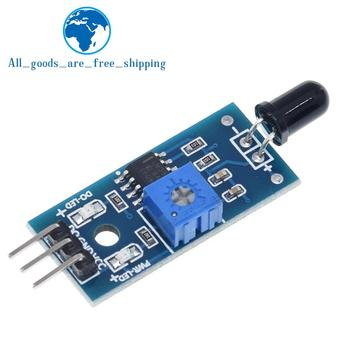 TZT infrarrojo IR 3 alambre llama Módulo de sensor de detección IR Módulo sensor de llama Detector de Smartsense para Arduino