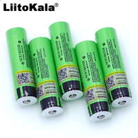 Liitokala original NCR18650B 3.7V 3400mah 18650 battery rechargeable lithium battery for flashlight battery (no PCB)
