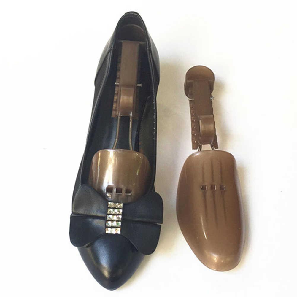 2018 1 пара пластиковых регулируемых носилок/Поддержка ботинок для мужчин и женщин предотвращают складку морщин деформации обувь деревья