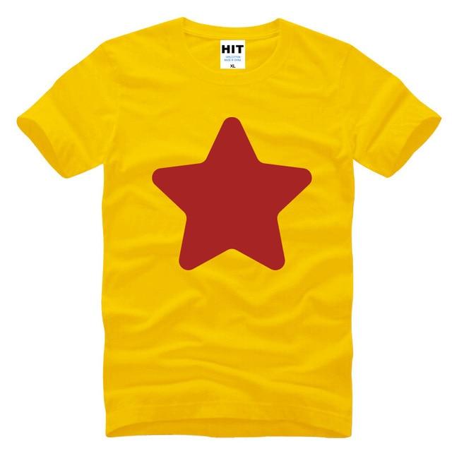 STEVEN Estrella UNIVERSO Creativo Impreso Hombres Camiseta de los hombres T-shirt de Moda 2016 Nueva Manga Corta O de Cuello Camiseta de Algodón Tee
