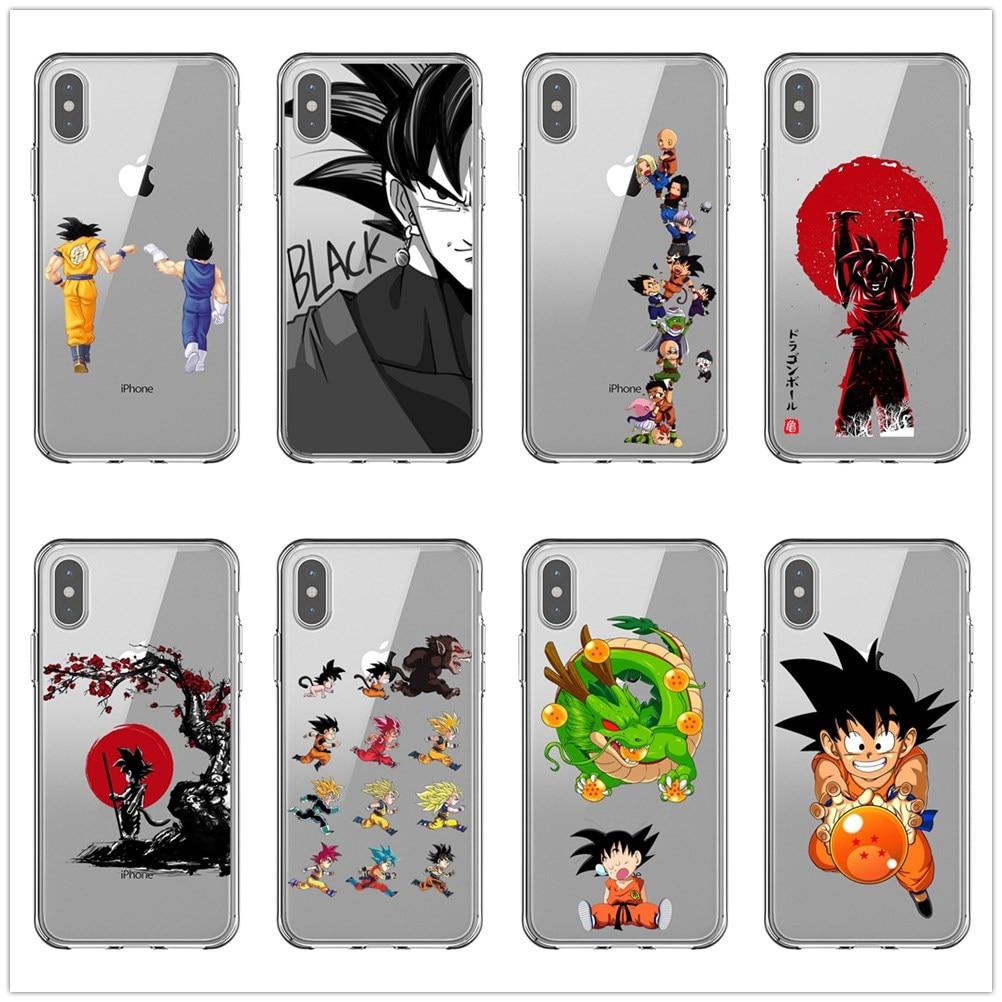 Dragon Ball Z Super DBZ Goku DBS Fashion Luxury Coque Phone Case For IPhone 11 Pro MAX 5 5S SE 6 6s Plus 7 8 Plus X XR XS MAX