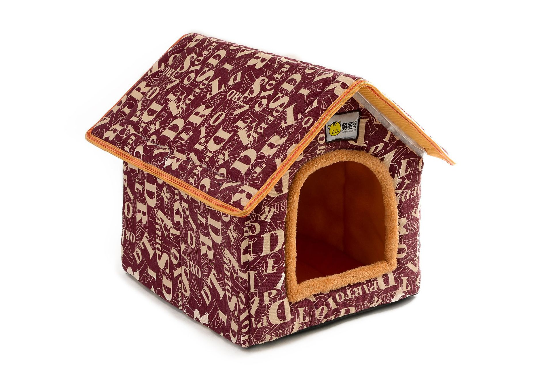 XS-L Pet Cat Dog Bed House Washable Waterproof &no Fade Small Pet House Hand Wash & Mechanical Wash Breathable Dogs Cage 20