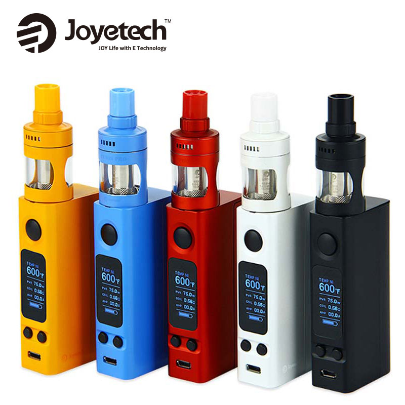 Electronic Cigarette Joyetech eVic VTwo Mini Vape Kit w 4ml Cubis Pro Tank vs 75W