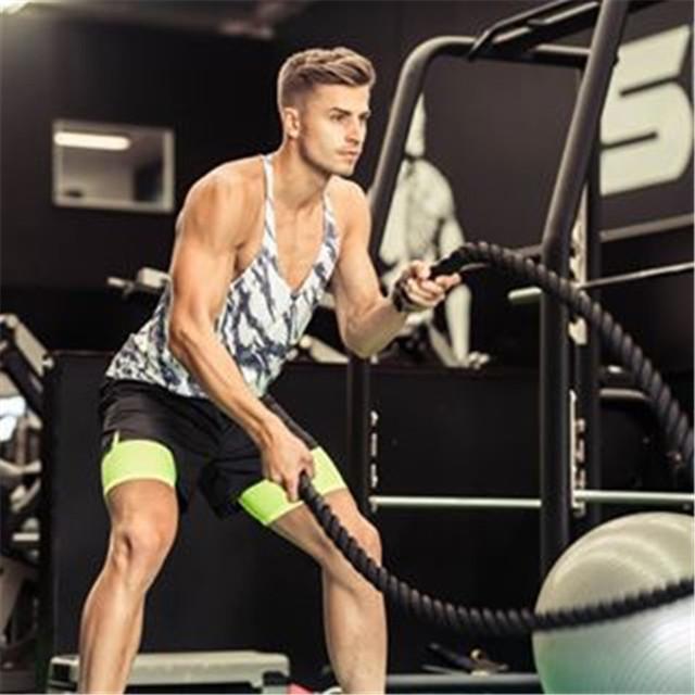 2017 NEW Brand workout vest men t shirts Summer Fit Men Tank Tops Clothing Bodybuilding Undershirt Golds Fitness man