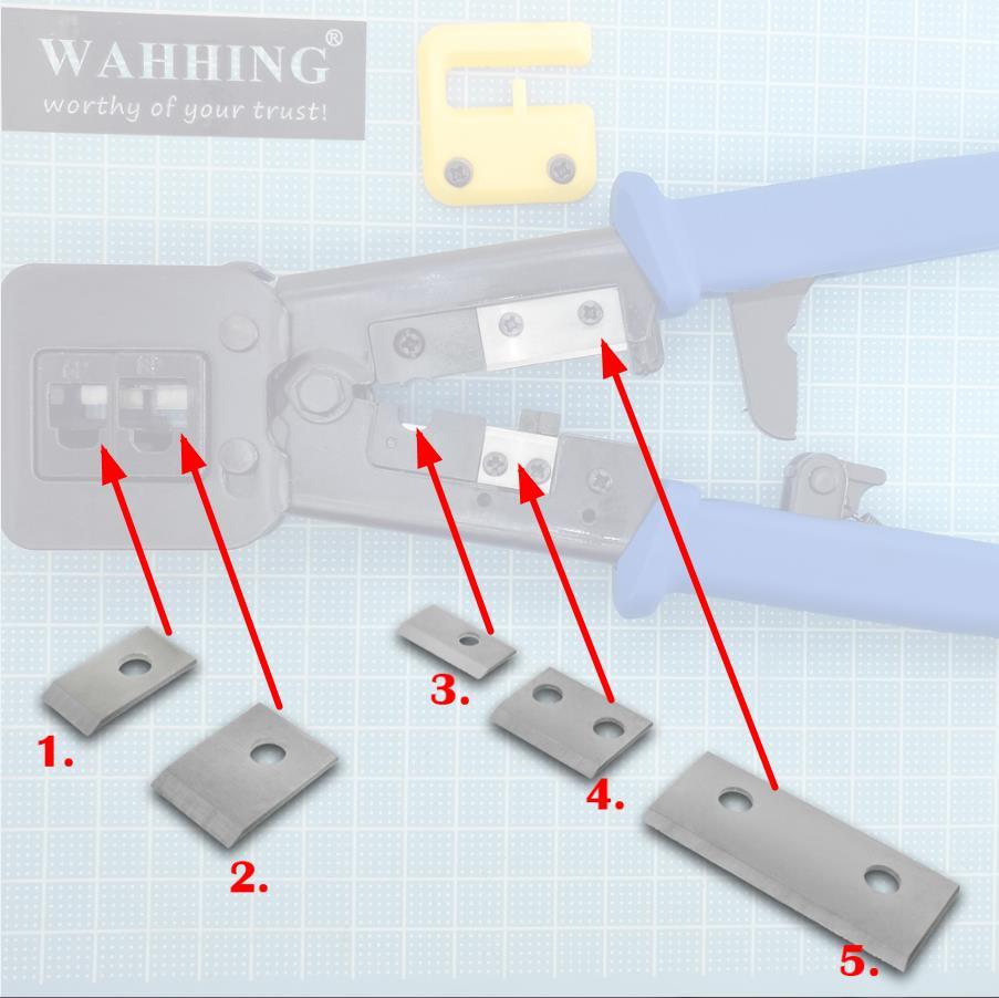 Werkzeuge Crimpen Werkzeug 5 In 1 Crimpen Zangen Multifunktionale Werkzeug Für Elektrische Kabel Geeignet Für Eine Vielzahl Von Terminal Zange Set Zangen