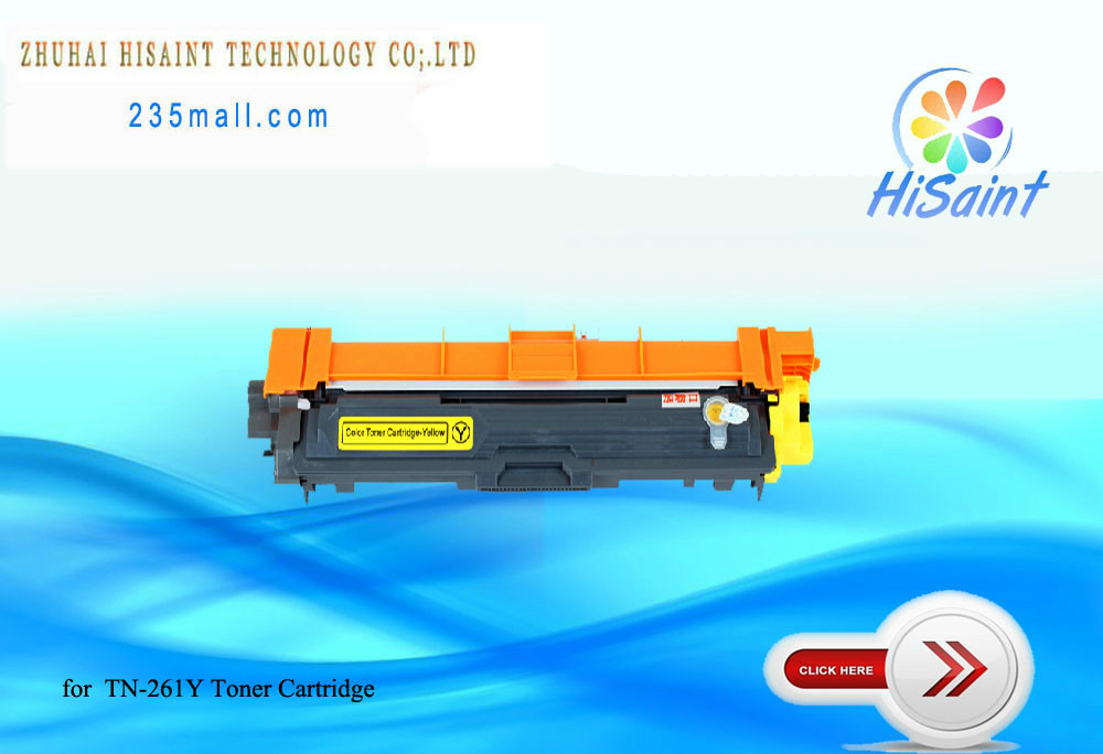 Подробнее о Toner Cartridge TN-261Y Compatible  for Brother HL-3170CDW/3150CDN MFC-9340CDW/9140CDN DCP-9020CDN compatible color toner cartridge for brother tn221 tn241 tn251 tn261 tn281 tn291 for mfc9130 9140cdn mfc9330 9340cdw