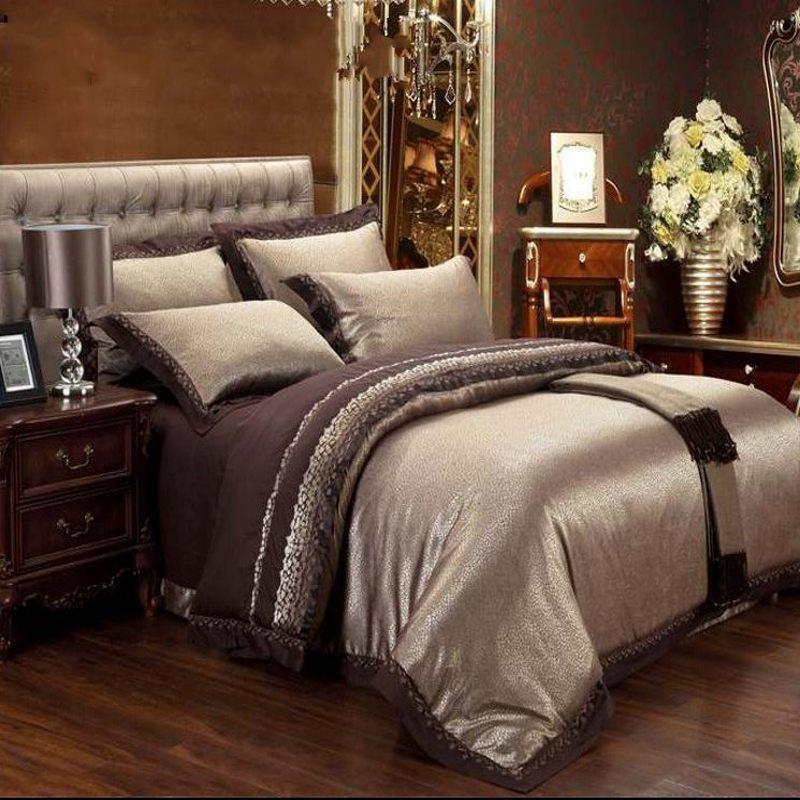 b9d50320371ab ... Tolbert 8 Piece Queen Comforter Set In Blue brown ivory