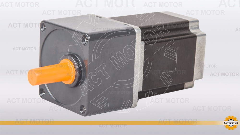 ACT Motor 1PC Stepper Geared Motor 23HS8430AG5 5:1 Ratio 3A 1.9N.m CNC Router Laser Engraving eprap 3D Printer nema23 geared stepping motor ratio 50 1 planetary gear stepper motor l76mm 3a 1 8nm 4leads for cnc router