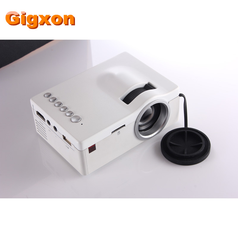 ФОТО Gigxon - G18 Mini LCD 320*180 Support 1080P video portable projectors with HDMI TF Card USB CVBS LED for Home theater Cinema