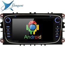 Car stereo Multimedia Android computer system unit GPS 2 Din Radio dvd player for FORD/Focus/S-MAX/Mondeo/C-MAX/Galaxy wifi DSP