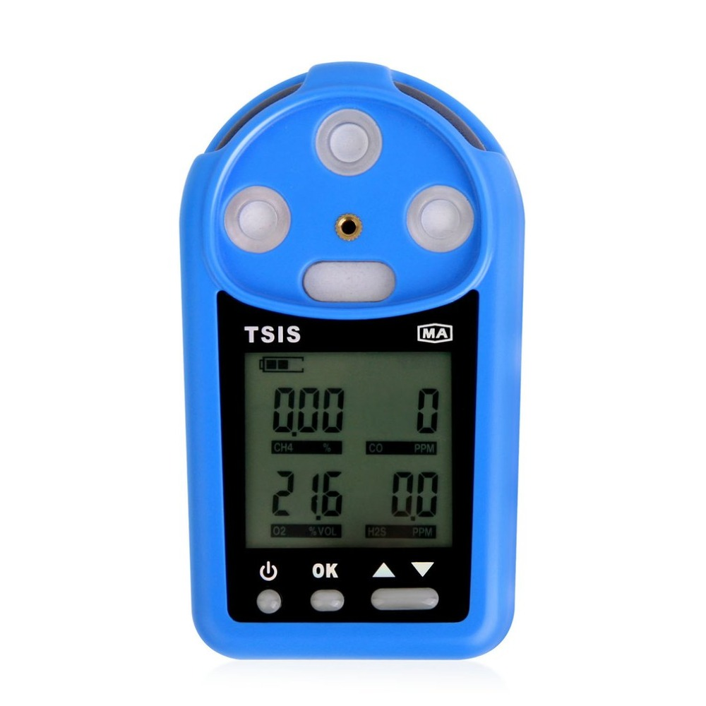 Carbon Monoxide Meter CH4 O2 H2S CO Gas Detector Analyzer Air Monitor Tester Handheld Gas Leak Tester High Precision bh 4s 4 in 1air quality monitor gas analyzer air tester portable compound gas detector o2 ex co air quality monitor