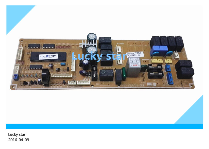 95% new for Air conditioning computer board circuit board PE-P6651-21 STM-9939-FC good working 95% new for haier refrigerator computer board circuit board bcd 198k 0064000619 driver board good working