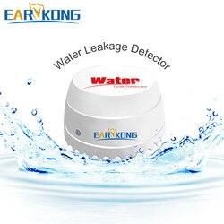 433 МГц беспроводной детектор утечки воды для домашней безопасности Wifi/GSM сигнализация датчик воды сигнализация детектор проникновения