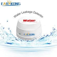 Detector de fugas de agua inalámbrico para el hogar, sistema de alarma con Sensor de agua, alarma de intrusión, Wifi/GSM, 433MHz