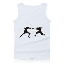 Anime One Piece Luffy and Ace Tank Top Mens Hip Hop Building Sleeveless Shirt in Plus Size Clothing and Summer Vest