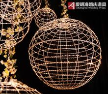Wedding props new Mars ball chandelier star scene wedding decoration window decoration ceiling full of stars wedding inflatabe star inflatable lighted stars for party decoration