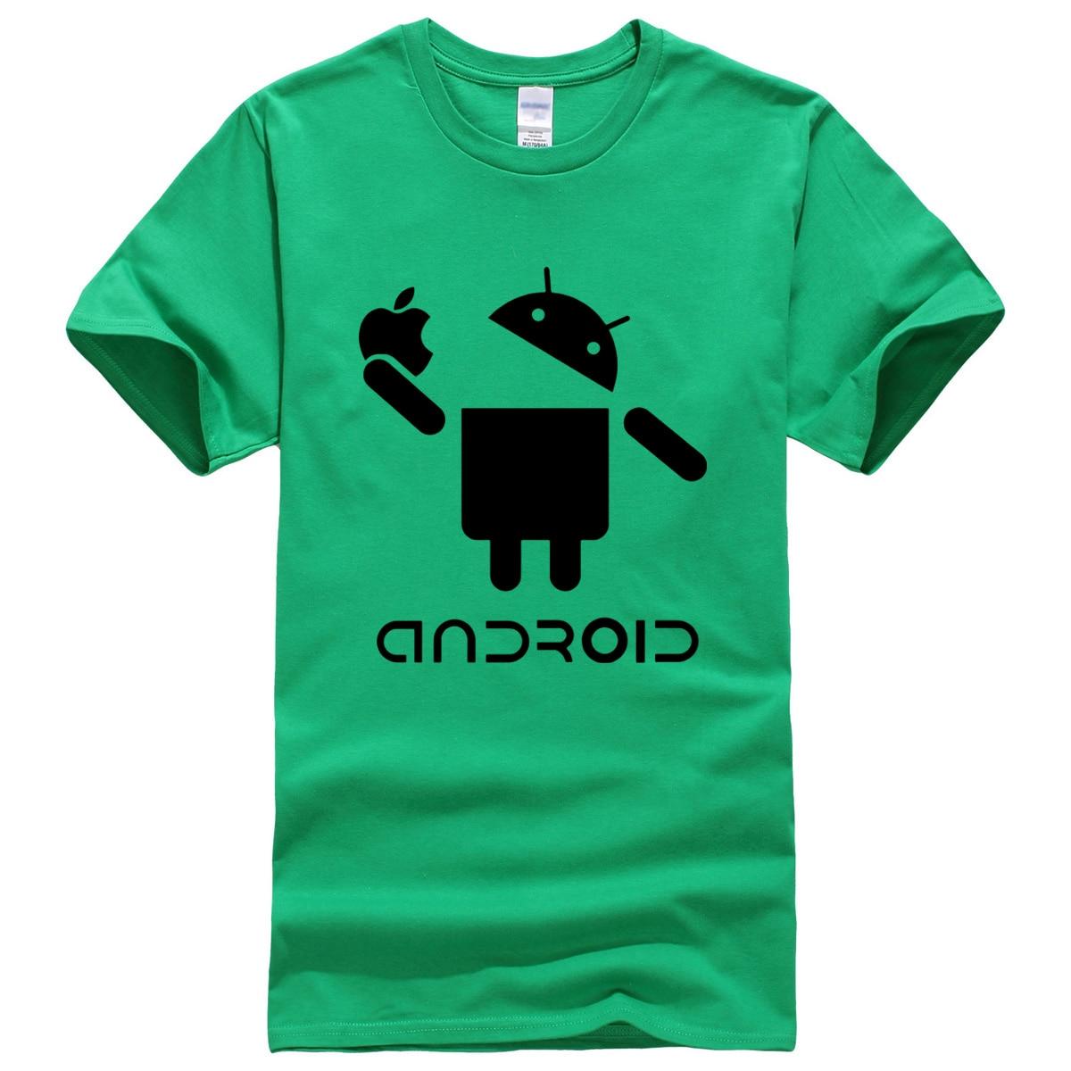 Android character pattern summer 2019 T-shirt cotton new hot sale men's T-shirts fashion casual t shirt harajuku crossfit brand 5