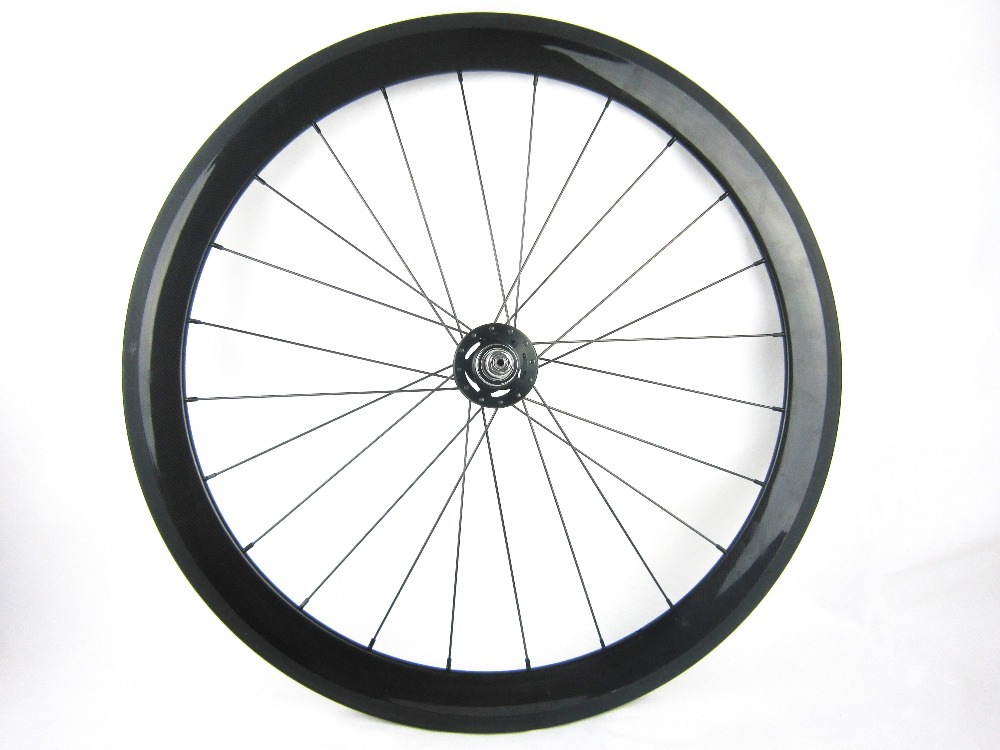 fixed gear carbon bike wheels 50mm clincher single font b speed b font 700C track font