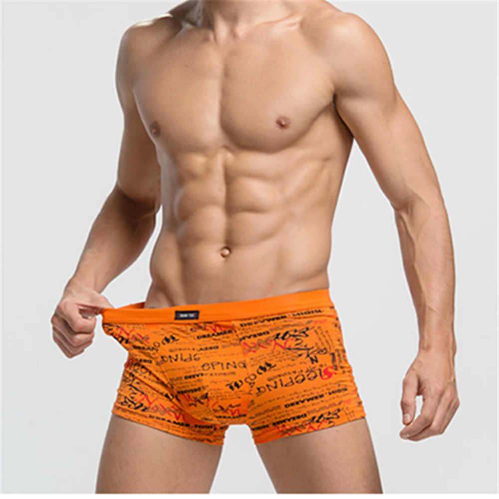 9907361168a52d ... Life As Dream male panties print modal penis pouch underwear boxers  brand bamboo fiber shorts men ...
