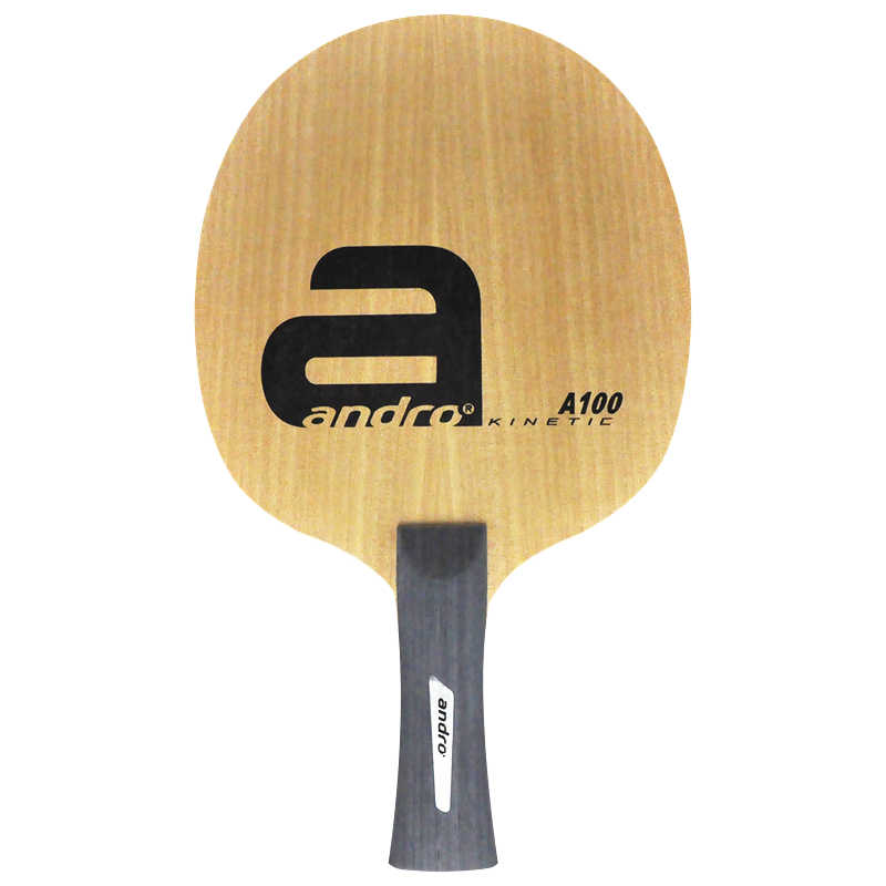 Andro table tennis racket A100 6 ply pure wood fast attack loop blade ping pong bat paddle