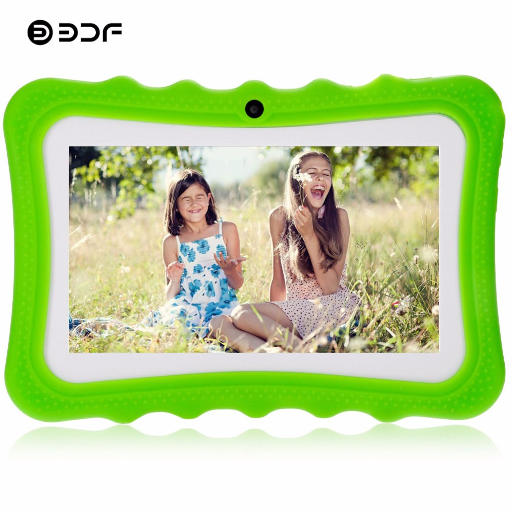 BDF Kids Tablet 7 Inch Quad Core Android 4 4 Tablets Pc For Kids Best gifts