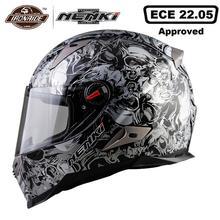 NENKI Motorcycle Helmet Capacete Moto Full Face Helmet Racin