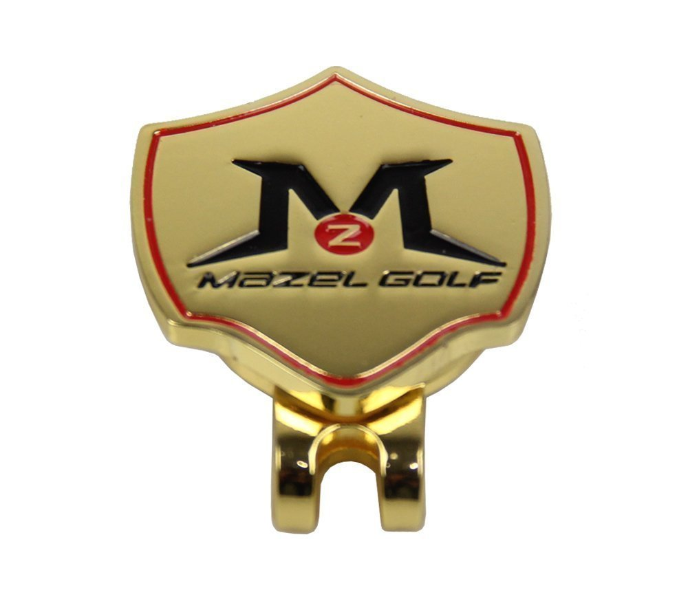 Mazel Strong Magnetic Golf Ball Marker With Hat Clip Personalised Design