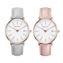 цена BRATHWAIT Brand Women's Watches Fashion Leather Wrist Watch Women Watch Ladies Watch Clock Mujer Bayan Kol Saati Montre Feminino в интернет-магазинах