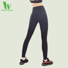 VANSYDICAL New Yoga Pants Women Sexy High Waist Stretchy Training Sports Fitness Compression Leggings Women Slim Body Yoga Pants