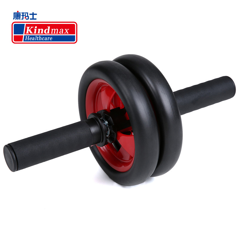 Kindmax No Noise Abdominal Wheel Ab Roller With Brake Trainer Exercise Fitness Equipment Accessory Brand Quality