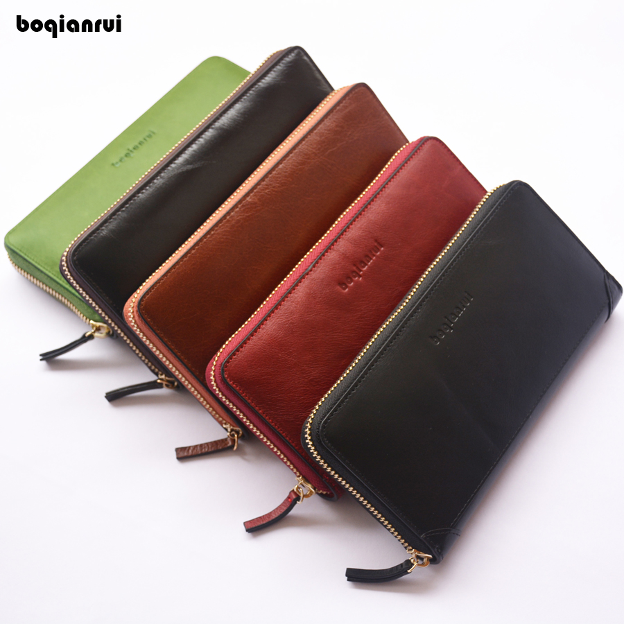 Hot Lady Female wallets High-quality Genuine Leather Wallet Women Long Style Cowhide Purse Capacity Clutch Card Holder Pouch tango pkz200