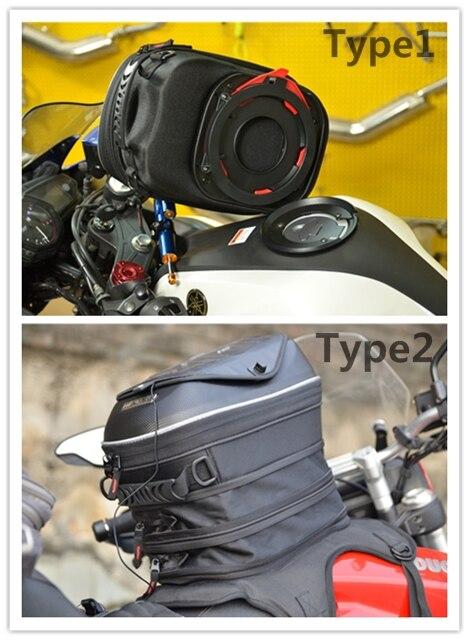 For MV Agusta/ Cagiva/Benelli/Aprilia MENAT BLACK oil Fuel Motorcycle Tank Bag Waterproof Racing Package Bags