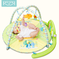 Babyruler Cartoon Soft electric Baby Play Mat 0 18 Months Baby Toys Kids Blanket Carpet baby musical bouncer for Newborns