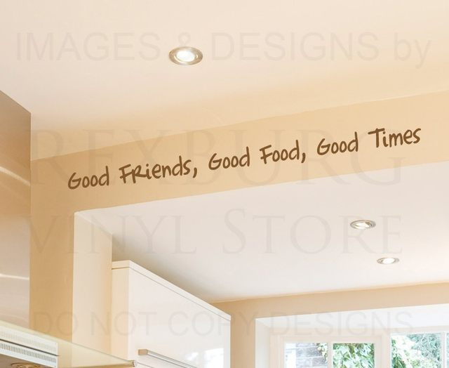 Online Shop Wall Decal Quote Sticker Vinyl Art Large Good Friends ...