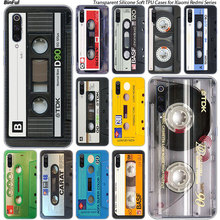 Classical Old Cassette tape Soft Case For Xiaomi Po
