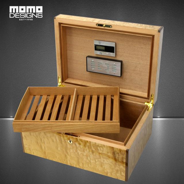 Deluxe Cohiba cigar box cedar wood humidor Rare Fraxinus rhynchophylla