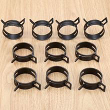 10Pcs Diameter 40mm Spring Pipe Clip Action Fuel Hose Tube Line Warm Clamps Fastener For Audi BMW Ford Honda Kia