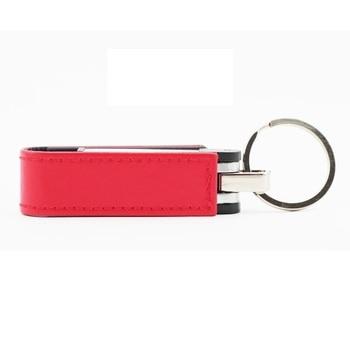 Genuine Capacity Leather 8GB/16GB/32GB Cle USB 3.0 Pendrive 64GB Flash Drive Memory Stick Flash Card Mini Key 512GB 1TB 2TB Gift