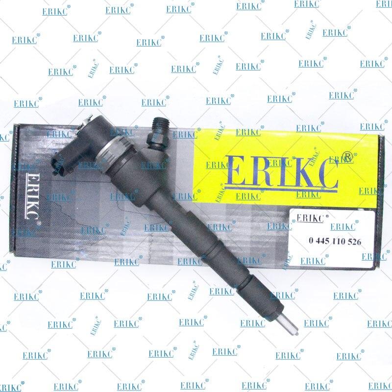 ERIKC Auto Fuel Injector 0445110526 Hochpräzise Fuel Injector 0445 110 526 Common Rail Düse Sprayer 0 445 110 526