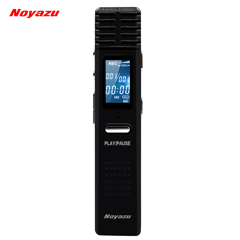 NOYAZU X1 Original Digital Recorder Pen 8/16GB Professional Audio Sound Voice Recorder Pen MP3 Player USB Flash Disk Small Gifts