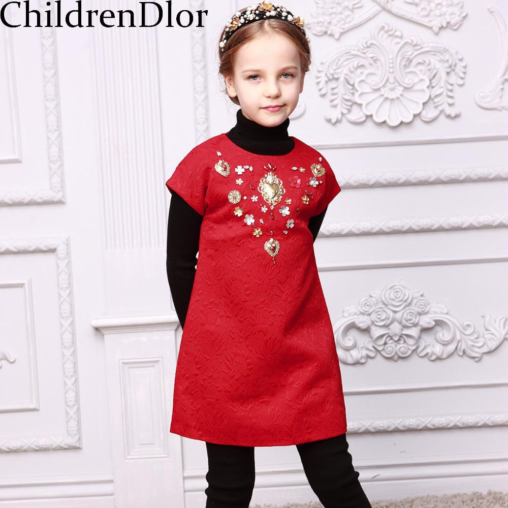 Подробнее о Girls Christmas Dress Costume 2017 Brand Princess Dress for Girl Clothes Handmade Sequined Robe Fille Kids Dresses Children brand girls dress summer 2017 brand kids dresses princess costume robe noel fille floral children dress for girl clothes