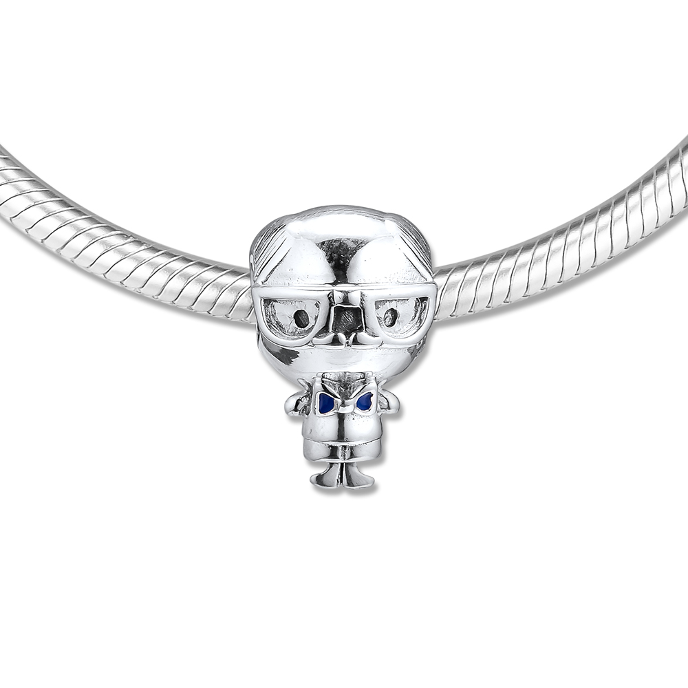 CKK Silver 925 Jewelry Mr Wise Charm Mother 39 s Day Beads Fits Original Bracelets Sterling Silver Making in Beads from Jewelry amp Accessories