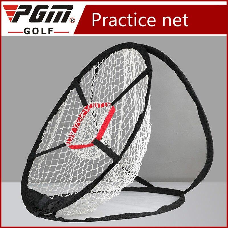 PGM De Golf Tige De Coupe Exercice Net Pliage Mémoire En Métal Réception Pratique Exercice Livraison Net et sac portable