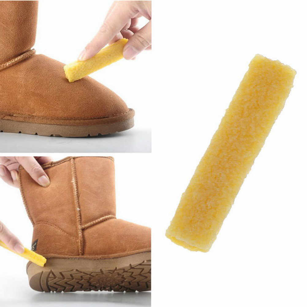 c290c1006ee9e Faux Suede Rubber Shoes Rubber Eraser Nubuck Leather Stain Cleaner Tools  For Cleaning Shoes Snow Boots 1 Piece Shoe Brush