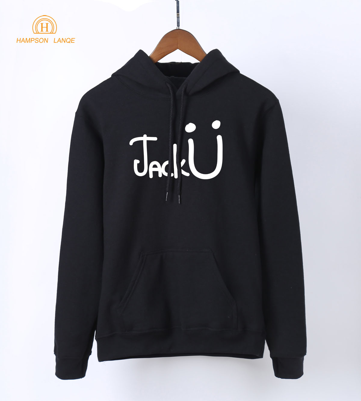 HAMPSON LANQE Famous Band Jack U Fashion Women Hoodies 2018 Spring Autumn Warm Fleece Sweatshirts Hip Hop Hoodie For Fangirl