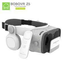 Bobovr Z5 3D очки виртуальной реальности VR Google картона Bobo VR гарнитура для шлем виртуальной реальности 4.7-6.2 дюймов Смартфон приставка игровая